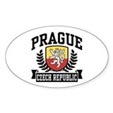 Prague Czech Republic Decal