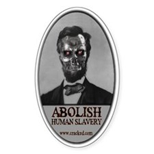 Cracked.com Abolish Human Slavery Decal