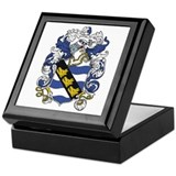 Purcell Coat of Arms Keepsake Box