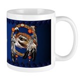 Hawk Face Dream Catcher Mug