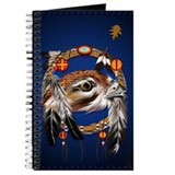 Hawk Face Dream Catcher Journal