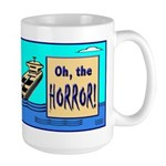 Coffee Bean Tragedy Large Mug