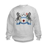 Botswana Coat of Arms (Front) Sweatshirt