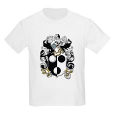 Pynchon Coat of Arms Kids T-Shirt