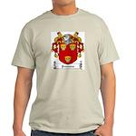 Parsons Family Crest Ash Grey T-Shirt