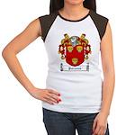Parsons Family Crest Women's Cap Sleeve T-Shirt