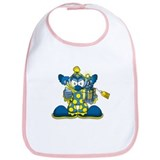Jokey the Clown Bib