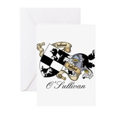 O'Sullivan Beare Coat of Arms Greeting Cards (Pack