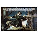 Nicolaus Copernicus Cosmos Large Poster