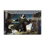 Nicolaus Copernicus Cosmos Mini Poster Print