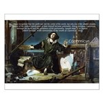 Nicolaus Copernicus Cosmos Small Poster