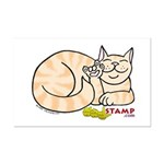 Orange Tabby ASL Kitty Mini Poster Print