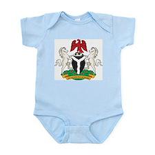 Nigeria Coat Of Arms Infant Creeper