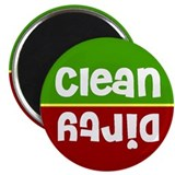 Cheri Stoplight Clean Dirty Dishwasher Magnet