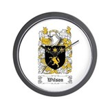 Wilson coat of arms Basic Clocks