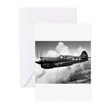 P-40 Beautiful Flight Greeting Cards (Pk of 10