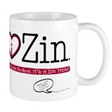 I Heart Zin: Light Mug
