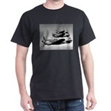 P-40 Squad Having Fun Black T-Shirt