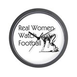 TOP Football Fan Slogan Wall Clock