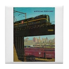PENNA. RAILROAD 1960 Cover Tile Coaster