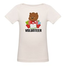 Volunteer Librarian Bear Tee