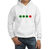Green Green Green Red Dots Jumper Hoody