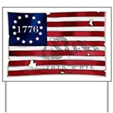1776 American Flag Yard Sign