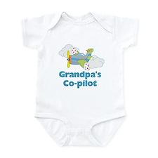 Grandpa's Copilot (boy) Infant Bodysuit