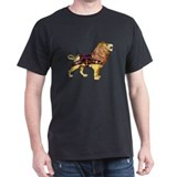 Carousel Lion Black T-Shirt