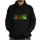 Bright Chromatic Jeep Hoody