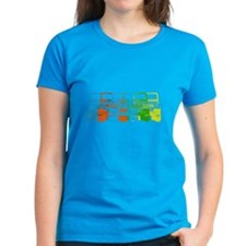 Bright Chromatic Jeep Tee