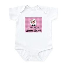 Grandpa's Little Lamb (Girl) Onesie