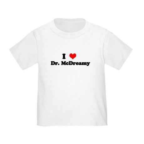 Grey's Dr. McDreamy Toddler T-Shirt