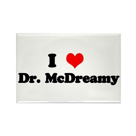 Grey's Dr. McDreamy Rectangle Magnet