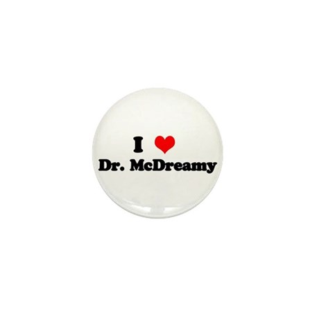 Grey's Dr. McDreamy Mini Button