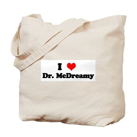Grey's Dr. McDreamy Tote Bag