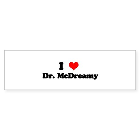 Grey's Dr. McDreamy Bumper Sticker