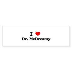 Grey's Dr. McDreamy Bumper Sticker