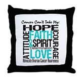 Ovarian Cancer Can't Throw Pillow