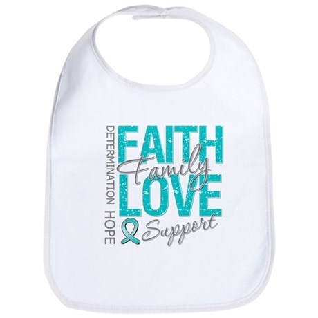 OvarianCancer Faith Bib