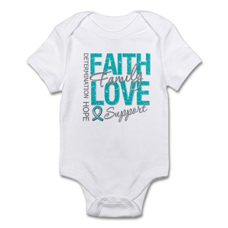 OvarianCancer Faith Infant Bodysuit