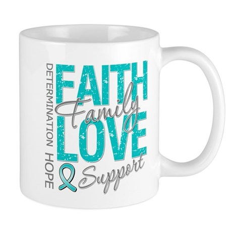 OvarianCancer Faith Mug