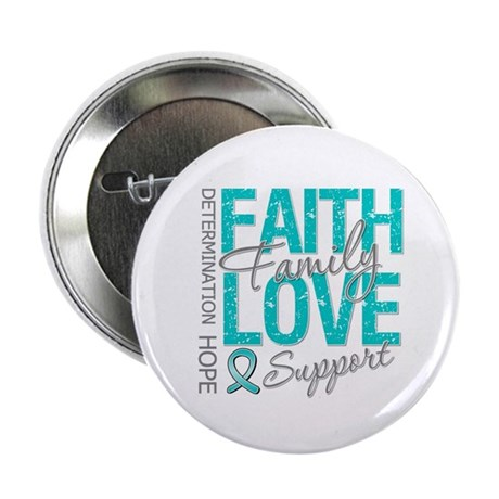 "OvarianCancer Faith 2.25"" Button (10 pack)"