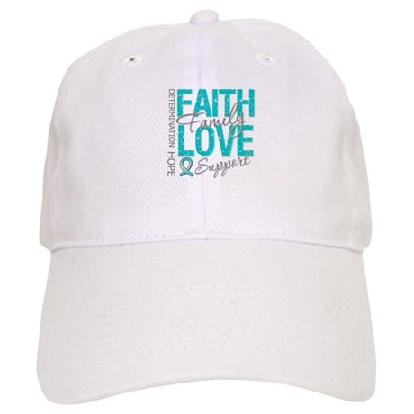 OvarianCancer Faith Cap