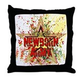 Newborn Army by Twibaby Throw Pillow