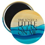 "Ocean Time 2.25"" Magnet (10 pack)"