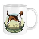 Treeing Walker Coonhound: Banner Series Small Mugs