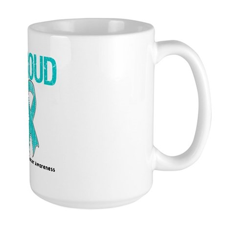 OvarianCancer ProudSurvivor Large Mug