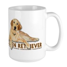 Golden Retriever Painted Mug