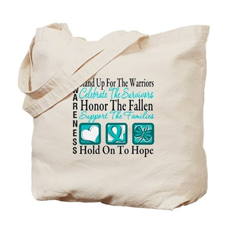 Ovarian Cancer StandUp Tote Bag